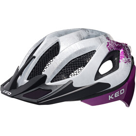 KED Spiri Two Naiset Pyöräilykypärä , violetti/valkoinen